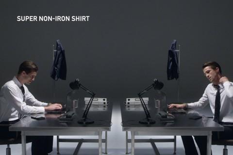 ユニクロ / 「スーパーノンアイロンシャツ」